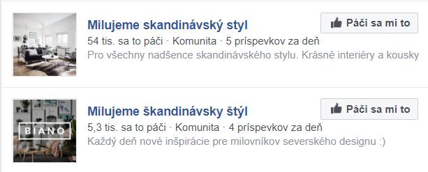 Dve rovnaké facebookové stránky, na Slovensku patrí Bianu, v Česku Favi