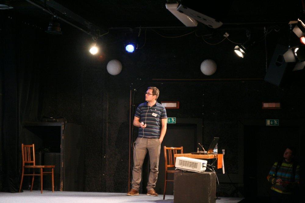 Adam Jurák na nekonferenci