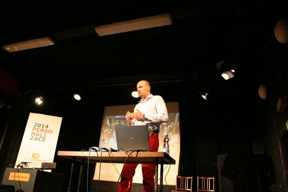 Tomáš Sedláček mluví o personalizaci nabídek e-shopů