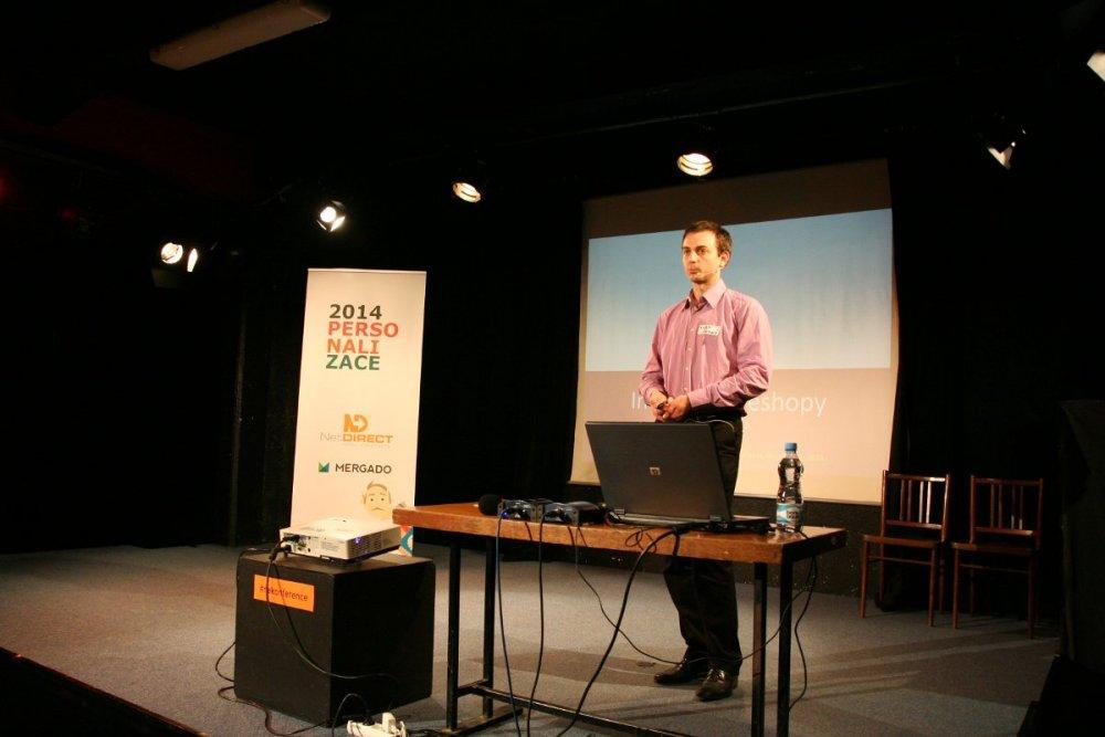 Kuba Černý z Persoo na nekonferenci o personalizaci webu