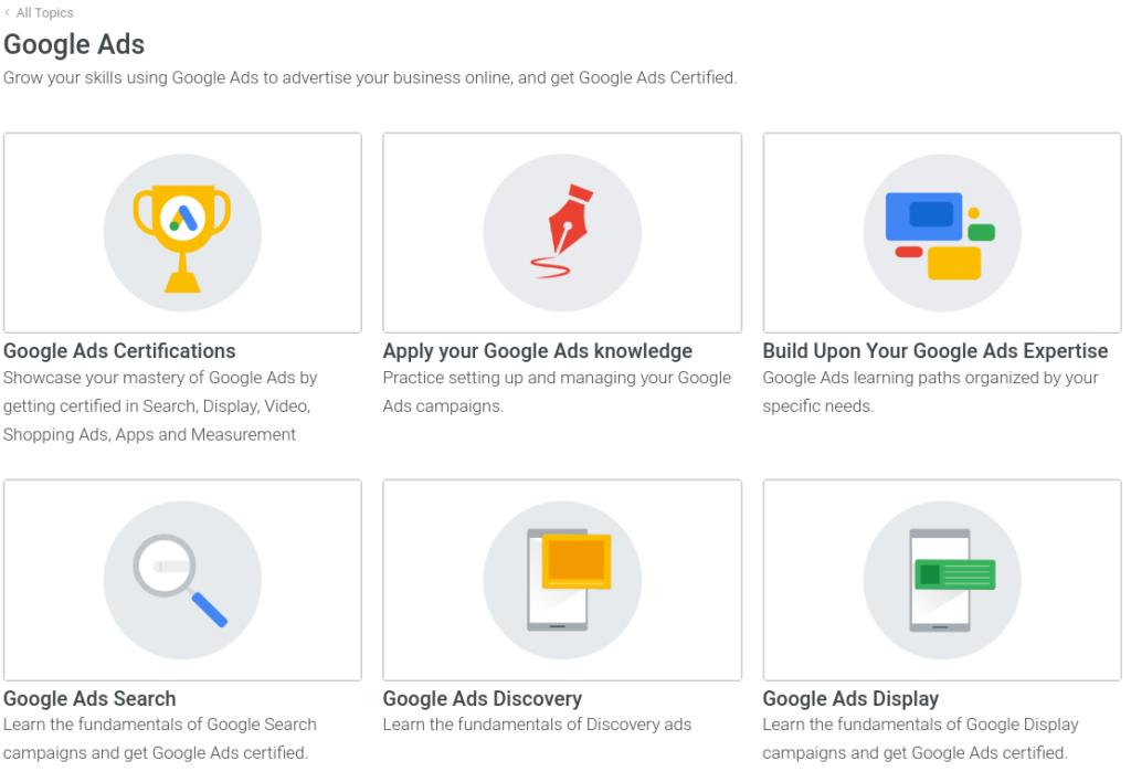 Certifikát v Google Ads
