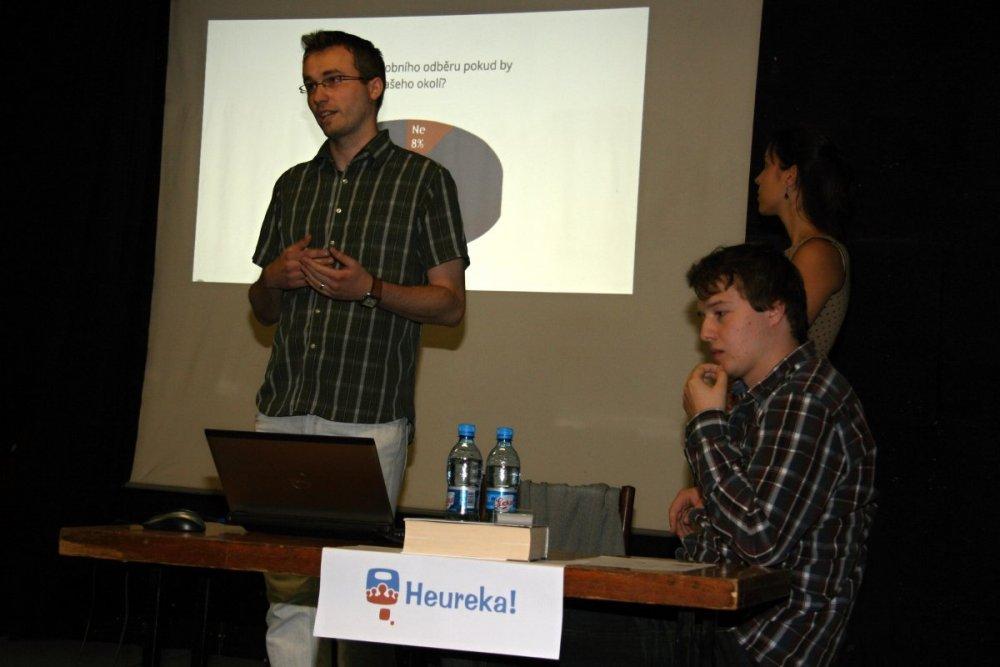 Zástupci Heureky v roce 2012.
