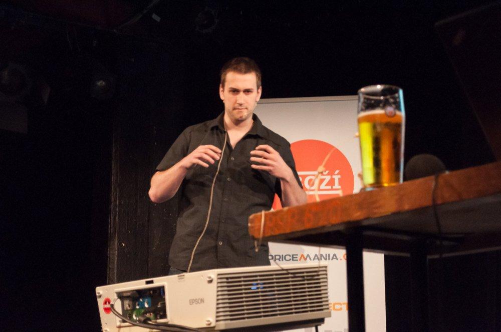 Filip Podstavec přednášek o Customer score